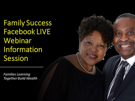 Family Success Webinar Information Session