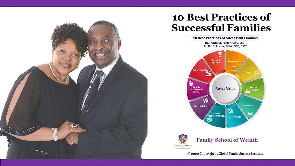 10 Best Practices of Success Families Fl