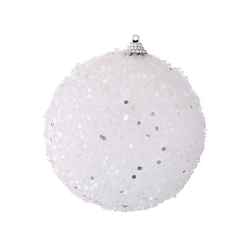 SNOWBALL ORNAMENT WHITE