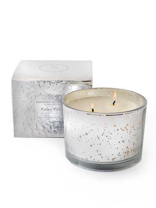 Roland Pine Lumiere Two-Wick Soy Candle 12.7oz