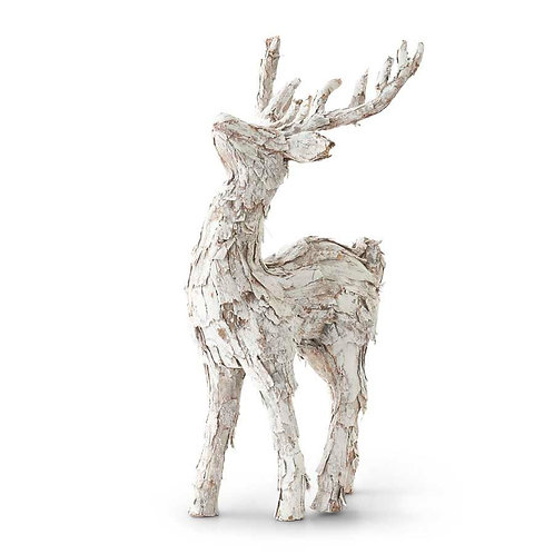 REINDEER WITH WHITE BARK