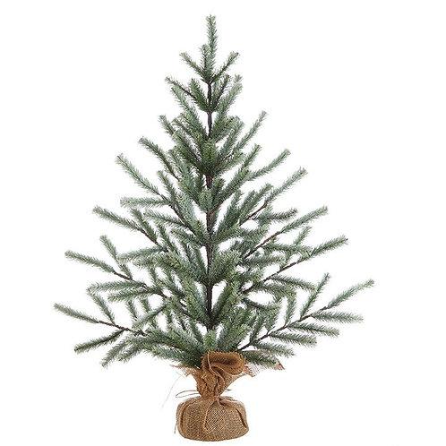 "36"" FLAT ICED PINE TREE"