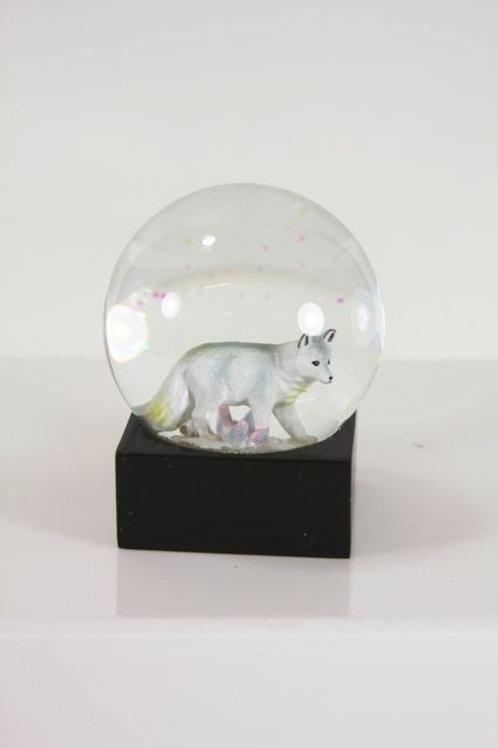 ARCTIC FOX SNOWGLOBE