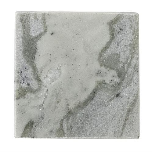 Square Marble Coaster Set