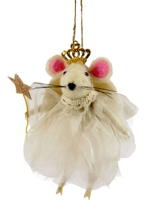 ANGEL MOUSE ORNAMENT