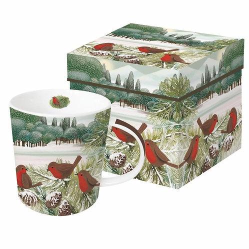 Meadow Birds Mug & Box