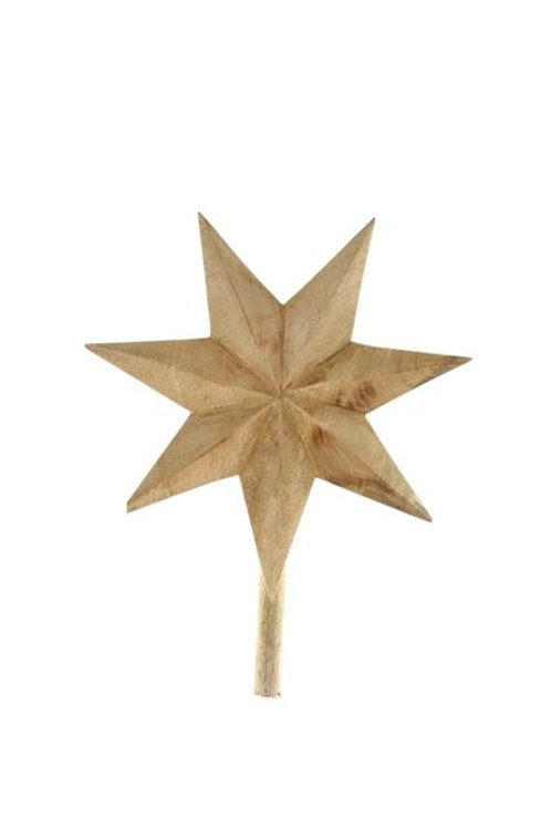 WOODEN TREE TOPPER
