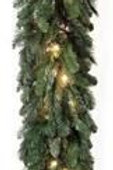"""9'X14"""" MIXED DELUXE GARLAND 100L"""