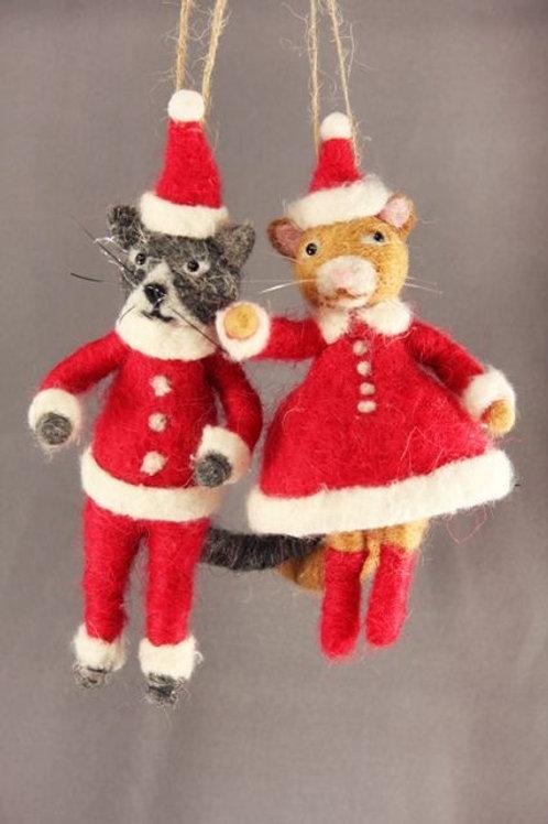 MR CAT CLAUS / MRS CAT CLAUS