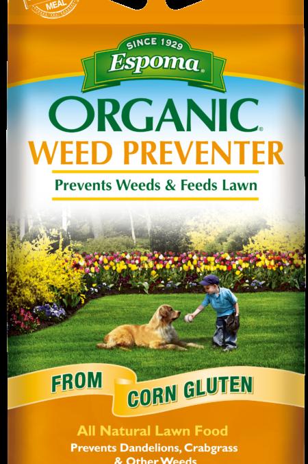 Espoma Organic Weed Preventer & Lawn Food 25lb