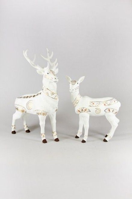 WHITE AND GOLD BUCK / DEER
