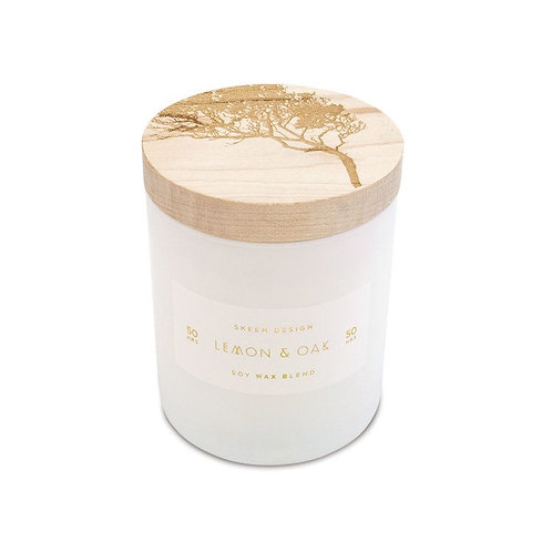 Lemon Oak Candle Small