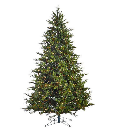 7.5' GREEN SPRUCE TREE 1000 LED