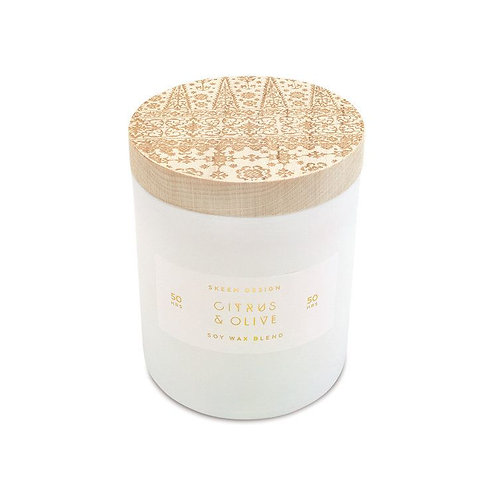 Citrus Olive Candle Small