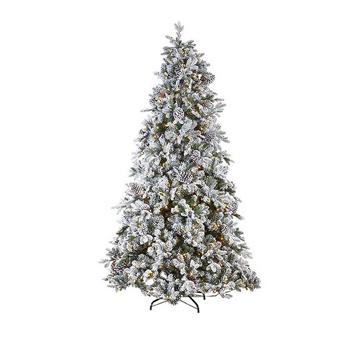 7.5'  FROSTED SPRUCE 750 LED