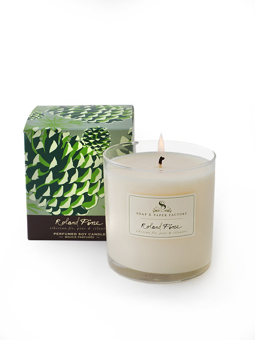 Roland Pine Large Soy Candle 9.5oz