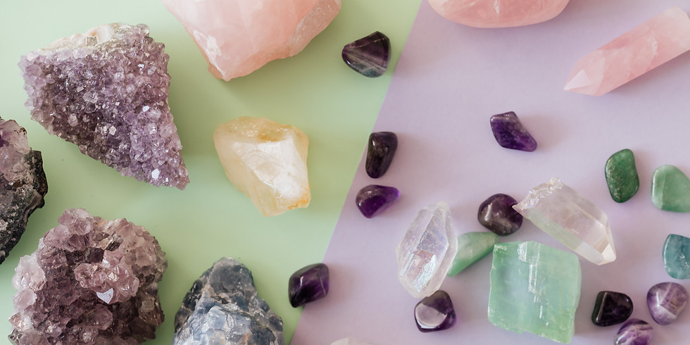 LIVE ONLINE CLASS: Crystals for Healing & Spiritual Growth