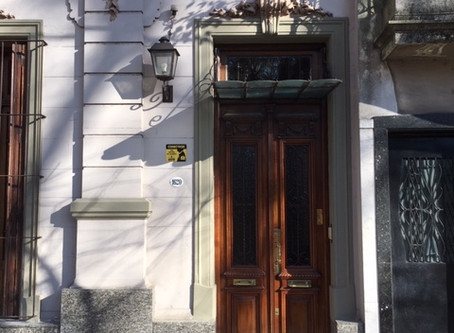 Elegant entrances of Buenos Aires