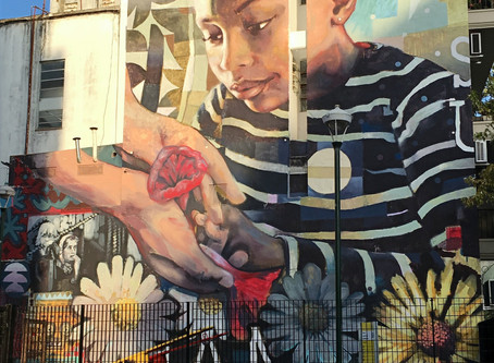 Buenos Aires street art - bold and beautiful