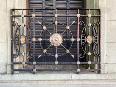 Wrought iron balustrades of Buenos Aires