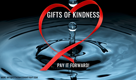 Gifts of Kindness @stthomasshantybay -ed