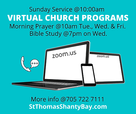 Virtual Services at St. Thomas in Shanty
