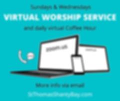 Virtual Services at St. Thomas in Shanty
