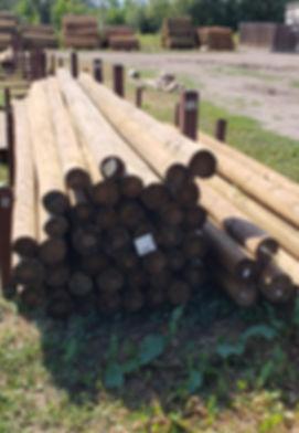 Morgan Timber Products Barn Poles