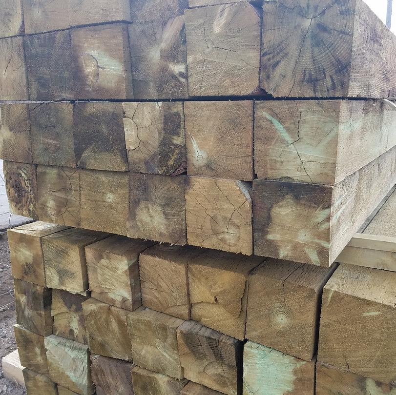 Morgan Timber Products 6''x 6'' sawn squares