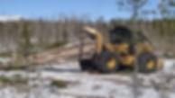 Cat 518C Grapple Skidder
