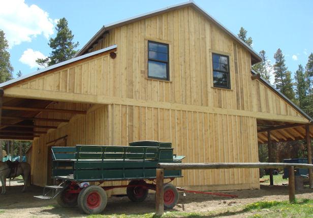 Board & Bat Siding, Rough Cut Lumber