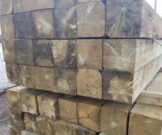 "6""x6"" Sawn Squares Morgan Timber Products"