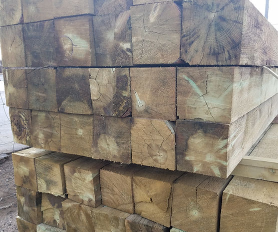 "6""x6"" Sawn Squares Morgan Timber Products"