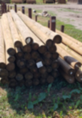 Morgan Timber Products Barn Poles