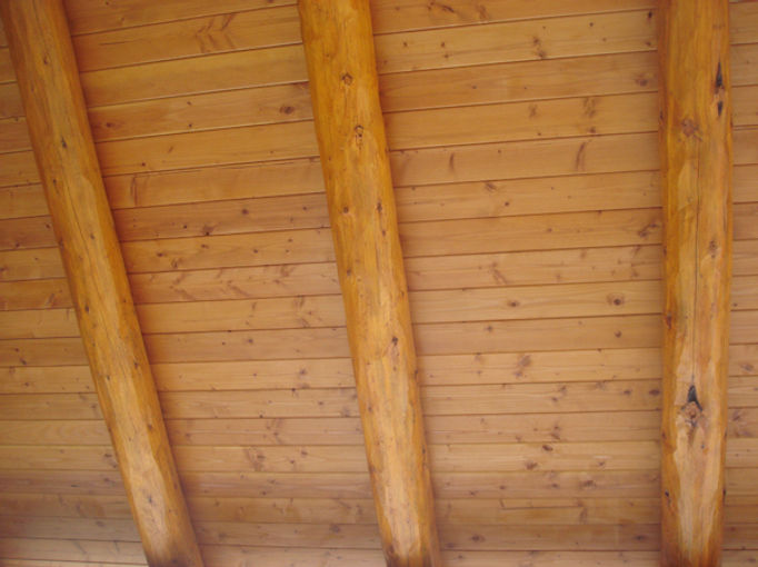 Tongue & Groove, Pine Paneling