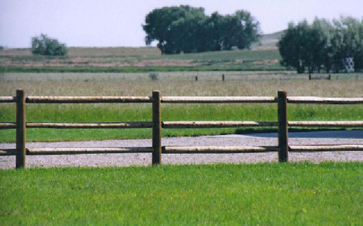 Standard 3 Rail Fence