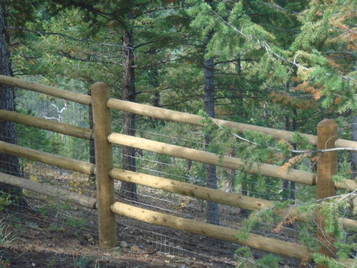Massive 4 Rail Fence