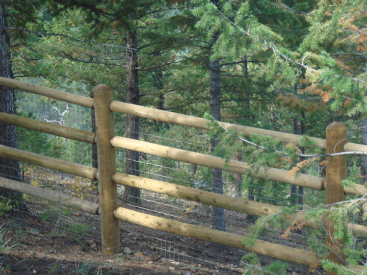 Massive 4 Rail Fence