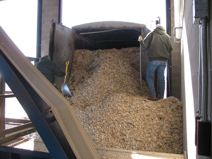 Heating Biomass