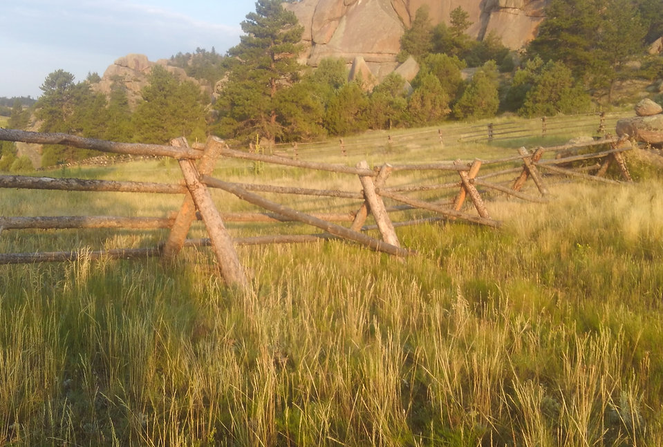 Morgan Timber Products Buck & Rail Fence