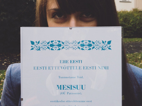 Ehe Eesti - Eesti ettevõttele eesti nimi