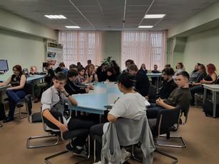Рабочее совещание студенческого самоуправления