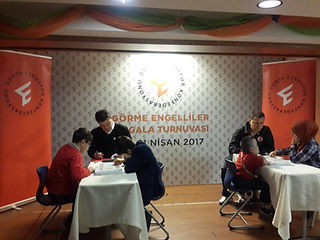 dünyada ilk defa düzenlenen görme engelliler arası mangala şampiyonası