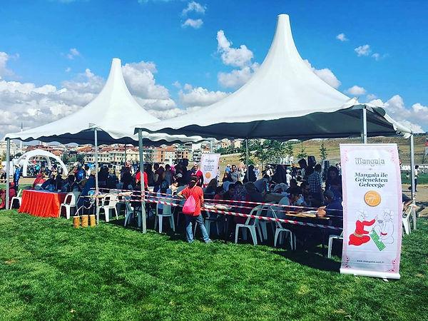 1.eetnospor festivali mangala oyunu etkinlik alanı