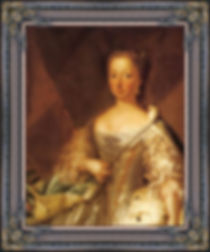 A portret of Anna van Hannover, Princess of Oranje-Nassau