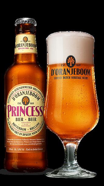 d'Oranjeboom Princesse luxury craft beer