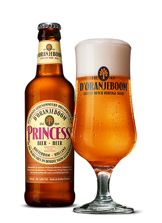 d'Oranjeboom Princesse luxury craft beer