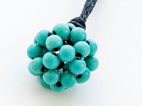Fleur de vie turquoise