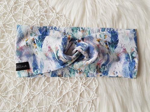 """Damen Stirnband/Haarband """"Boho blau"""""""