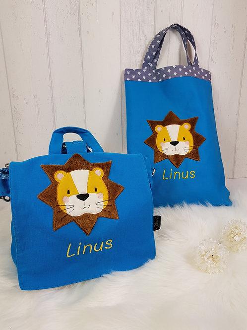 """Kindergartentasche """"Löwe Linus"""""""